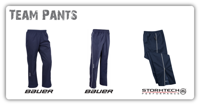 Jr Ranger Warm-up Pants Bauer & Stormtech